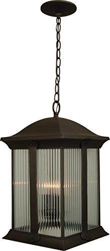 Craftmade Z4121-OBO Summit Outdoor Ceiling Pendant Lighting, 3-Light, 180 Watts, Oiled Bronze (11