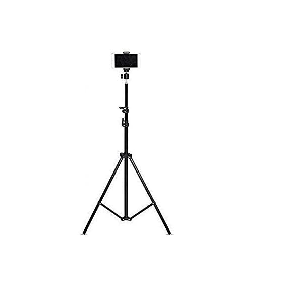 Teconica TX10 Tripod Stand for Camera, DSLR, Mobile Ring Light for Beauty Parlor Studio Makeup Stage Live Recording