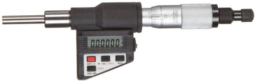 Digital Micrometer Head - Starrett 762XFL Digital Micrometer Head, Non-Rotating Spindle, 0-1
