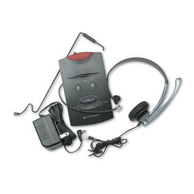 (PLNS11 - S11 System Over-The-Head Telephone Headset w/Noise Canceling Microphone)