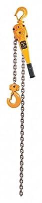 Lever Chain Hoist, 6000 lb. Load Capacity, 15 ft. Hoist Lift, 1-5/16\