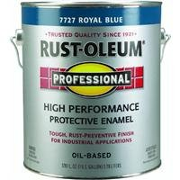 RUST-OLEUM 7727-402 Professional Gallon Royal Blue Enamel Coating (Oil Enamel Based Professional)