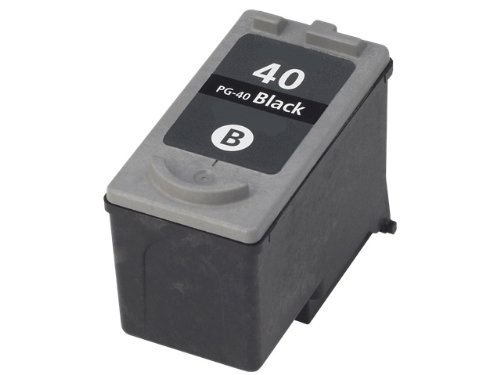 HouseOfToners Remanufactured Ink Cartridge Replacement for Canon PG-40 (1 Black)