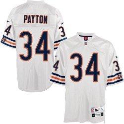 Reebok Chicago Bears Walter Payton Premier Throwback White Jersey XX Large