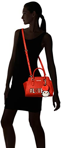 Women's Red Love rosso Wristlet Borsa Moschino Pu 8w6R75gq