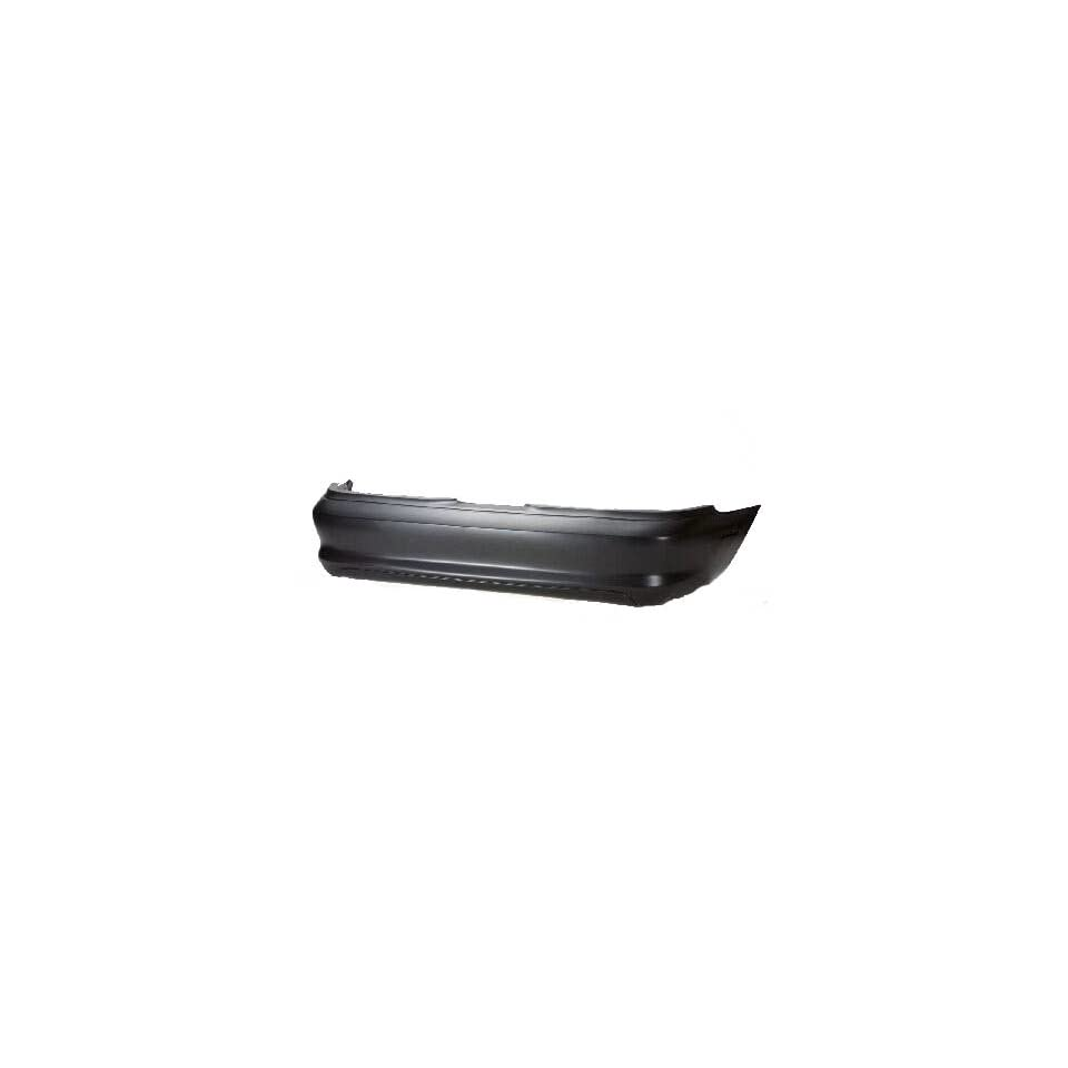 FD04108BA TY1 Ford Mustang Primed Black Replacement Rear Bumper Cover
