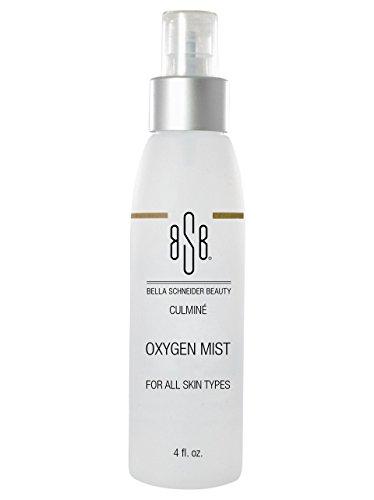 Bella Schneider Beauty LA BELLE Oxygen Refreshing Mist - Perfume & Preservative Free Skin Protecting Spray -Anti-Stress Professional Grade Hydrating & Cleansing Skincare Product - 4fl Oz - MSRP - Hydrating Freshener