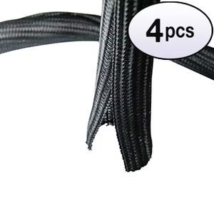 - GOWOS (4 Pack) Self Closing Cable Sock Black 1.5