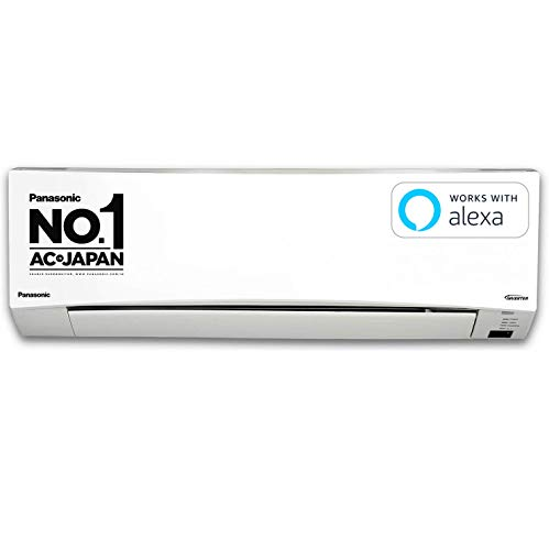 Panasonic 1 Ton 3 Star Wi-Fi Inverter Split Air Conditioner (Copper, PM 2.5 Filter, 2021 Model, CS/CU-SU12XKYW, White)