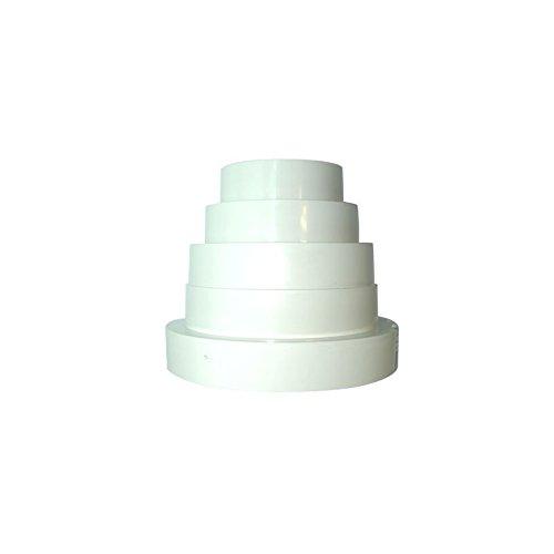 3 opinioni per Adattatore Universal Winflex PVC (80/100/120/125/150mm)