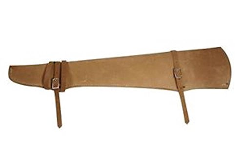 Shotgun Leather Scabbard Case Holster Hunting Storage For Horse Or Car (Leather Gun Scabbard)