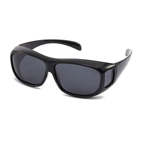 Unisex Polarized UV Glasses Aviator Driving Goggles Cycling Sunglasses Eyewear Glasses Anti ()