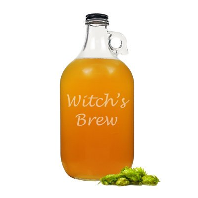 Halloween Witch's Brew Craft Beer Growler - Grandin Road ()