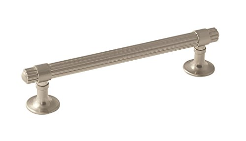 Amerock BP36622G10 Sea Grass Cabinet Pull, 5-1/16 in (128 mm) Center-to-Center, Satin Nickel ()