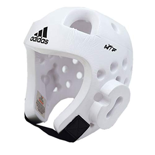 (Adidas Dipped Foam Sparring Headgear - WHITE - Xlarge )