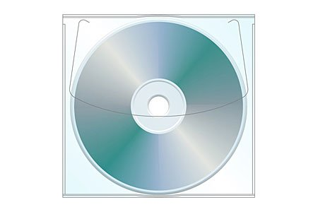 Adhesive Cd (Adhesive CD | DVD Sleeve - Box of 1000)