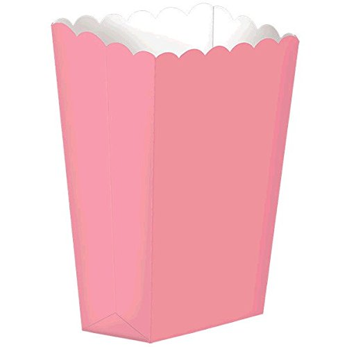 Popcorn Boxes, Small | New Pink | Party Accessory ()
