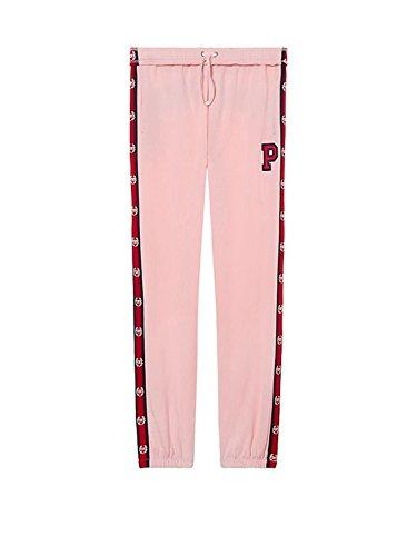 Victoria's Secret Pink Campus Pant Sweatpant, Candy Pink, Large ()