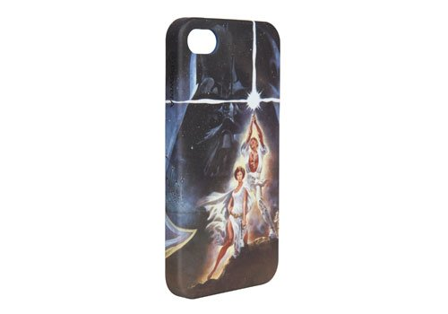 POWER A CPFA000536 Star Wars Saga Case Series for iPhone 4/4S - 1 Pack - Retail Packaging - Poster Artwork