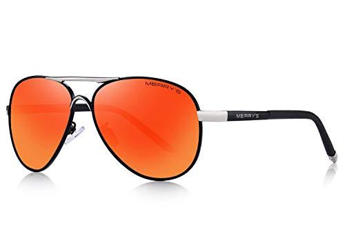 MERRY S Men s Polarized Driving Sunglasses For Men Unbreakable Frame UV400 S8513