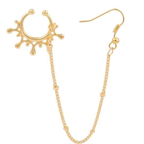 (Kiokioa Stainless Steel Open Hoop Nose Ear Ring Earrings Nose Stud Nose Ring Body Piercing Studs)