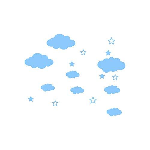 Hot Sale!UMFun DIY Clouds Wall Decals Children's Room