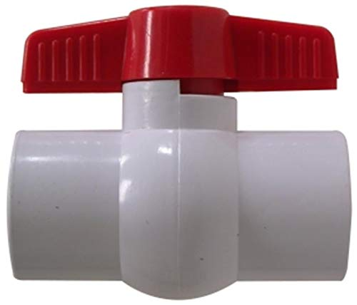 1-1//4 FIP x FIP Thread Grey 1-1//4 FIP x FIP Thread Midland Metal Midland 899003 PCV Ball Valve