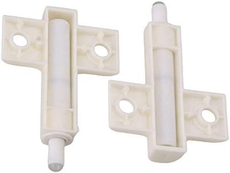 Door Cabinet Shock Absorber ABS Engineering Plastics Kitchen Cabinet Door Soft Closer Damper Bumper Buffers Pack of 20 Gray