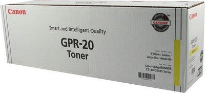 Canon GPR20Y Copier Toner, for Imagerunner C4580, Yellow