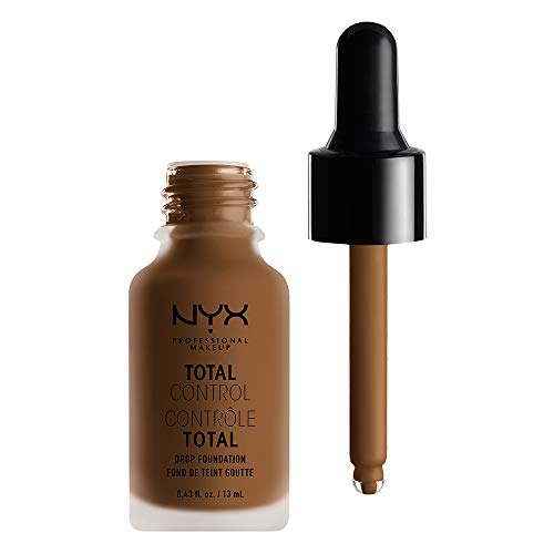NYX PROFESSIONAL MAKEUP Total Control Drop Foundation - Sienna, Medium With Warm Undertone