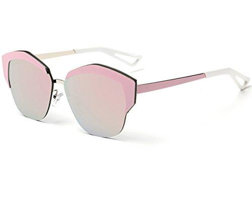 Heartisan Women's Fashion Cat Eye Half Frame Semi-rimless Sunglasses - Sunglasses Taylor Swift