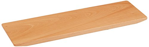 "Sammons Preston Hardwood Transfer Board for Wheelchair Users, 24"" Long Hardwood Transferring Board with 250 lbs Capacity, Strong Wooden Slide Board with Handles and Tapered Ends for Easy Transfer"