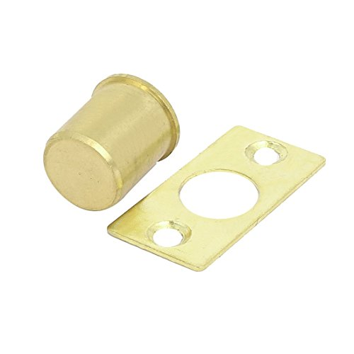 dealmux-door-cabinet-16mm-dia-brass-cylinder-shape-ball-catch-latches-catchers-w-plate