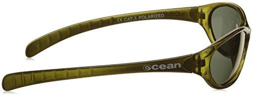 Ocean Sunglasses 17700.6 Lunette de Soleil Mixte Enfant, Vert