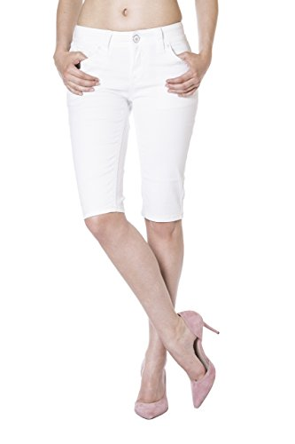 Blue Monkey Jeans - Vaqueros - Capri - Básico - para mujer blanco