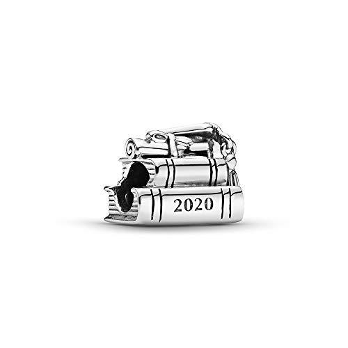 Pandora Schulabschluss 2020 Bücher Charm