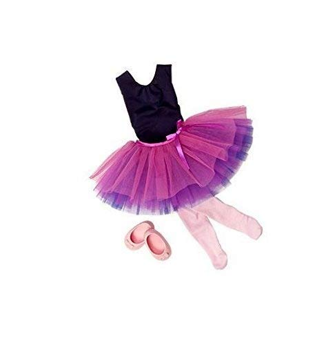 Our Generation Dance Tulle You Drop Ballerina Outfit and Accesory Set for 18 Poseable Doll by Our Generation
