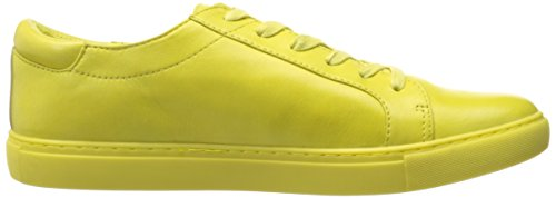 Kenneth Cole New York Kvinna Kam Mode Sneaker Citron / Läder
