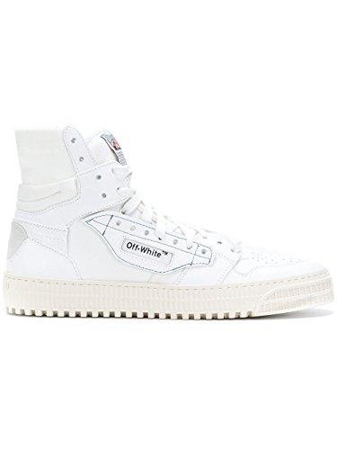Rebecca Minkoff Herren Omia065s188000160100 Weiss Leder Hi Top Sneakers