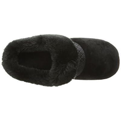 Isotoner Women's Velour Diane Hoodback Slippers | Slippers