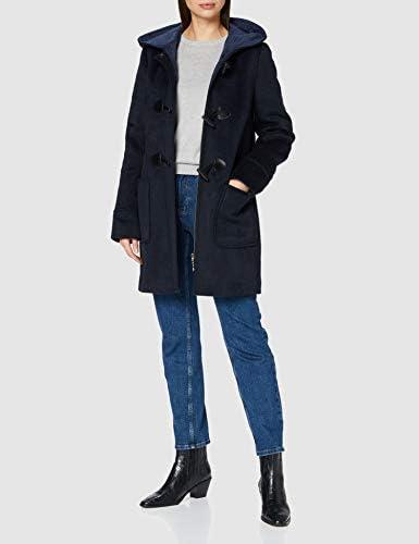 Gil Bret Outdoor Damen 9908/6193 Wollmantel, Dark Blue/Classic Blue, 36
