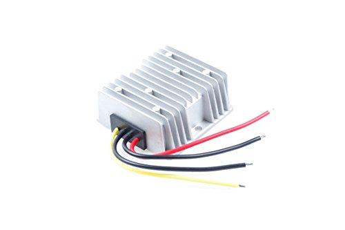 KNACRO 12V 24V (9-30V) To 48V 6A 288W DC-DC Waterproof Boost Converter Automatic Step Up Voltage Regulator Module Car Power Supply Voltage Transformer Input 9-30V with 4 Wires (12V UP TO 48V 6A) by KNACRO