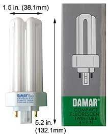 Compact Fluorescent Bulbs CFM26W/GX24Q-3/850/ECO (Case of 15)
