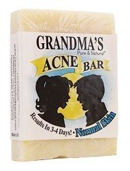 Grandma's Pure & Natural Acne Bar For Normal Skin 4 oz by...