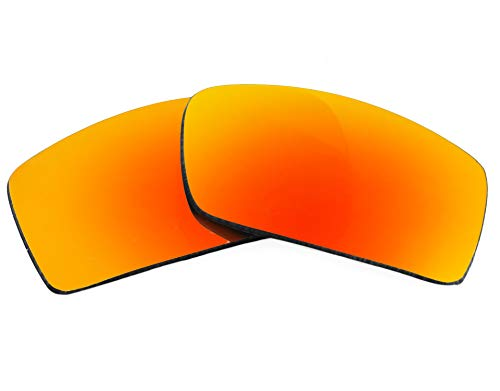 Gascan Replacement Lenses Polarized Red Mirror by SEEK fits OAKLEY Sunglasses ()