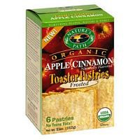 Nature's Path Organic Frosted Toaster Pastries Grannies Apple Pie -- 6 Pieces