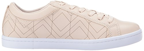 Lacoste Womens Straightset Lace 417 1 Sneaker Light Pink