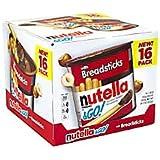 Nutella & Go Hazelnut Spread With Breadsticks, 1.8 Oz, Box Of 16 Cups