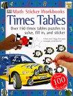 Math Sticker Workbooks: Times Tables