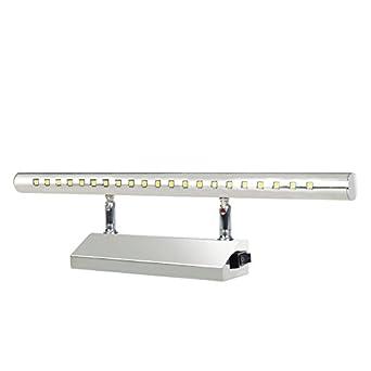 led luces de mueble con interruptor para espejo bao saln dormitorio w cm blanco fro